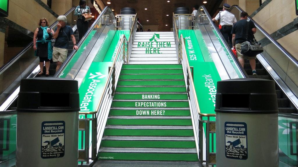 Asb Challenge Bank Chicago Staircase