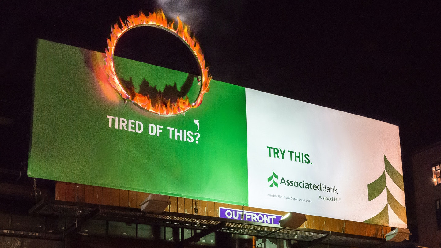 Asb Challenge Bank Ring Of Fire Billboard