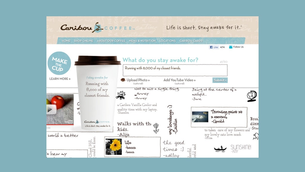 Caribou Life Is Short Carousel Website 2050X1154