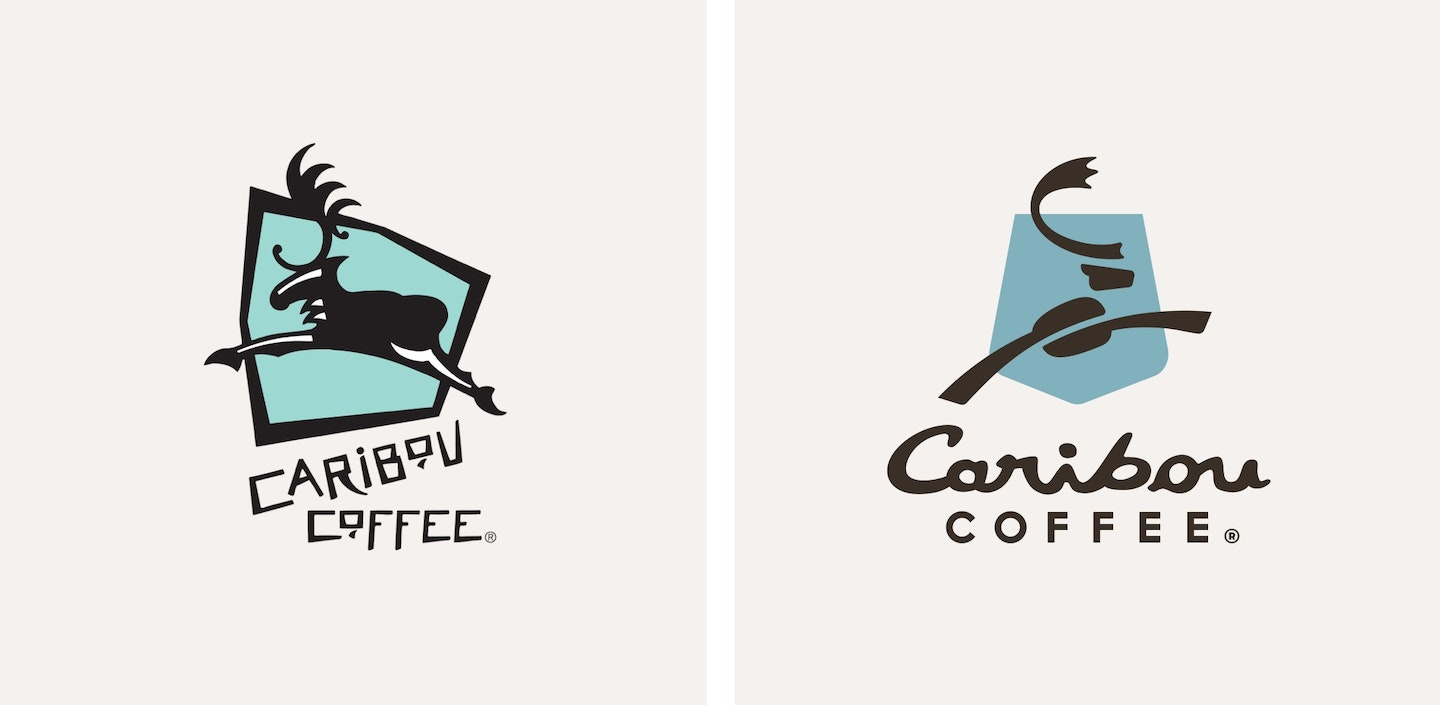 Caribou Life Is Short Logos 2050X1004