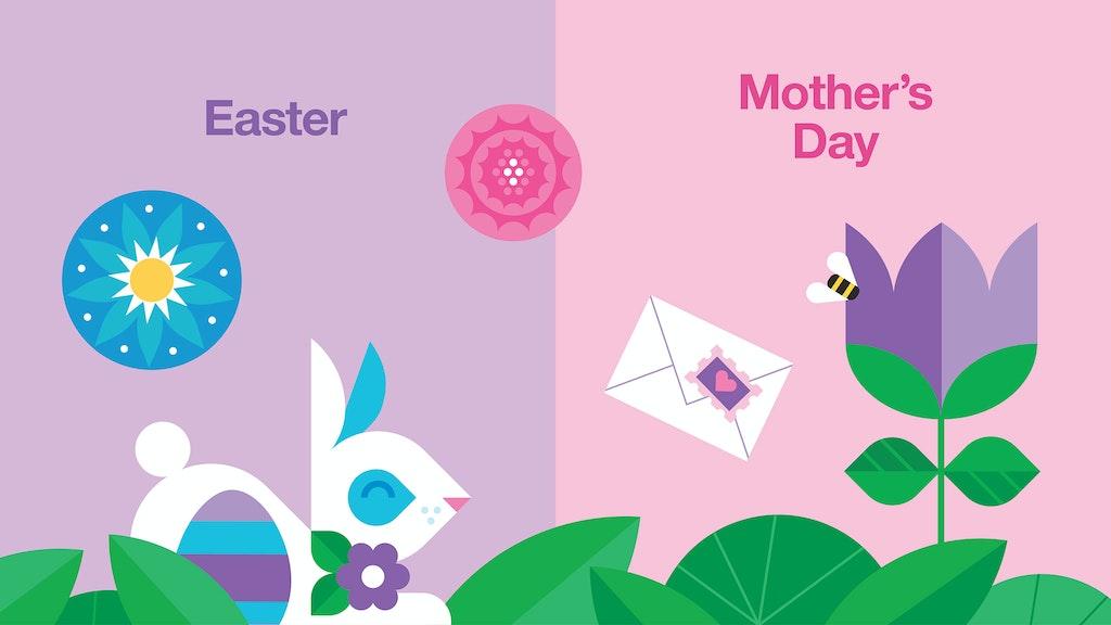 Target Easter Mothers Day Illustration Slideshow 03 2048X1152 V2