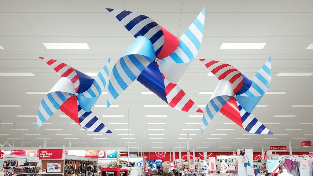 Target Signs Pinwheels Hanging Slideshow 02 2048X1152