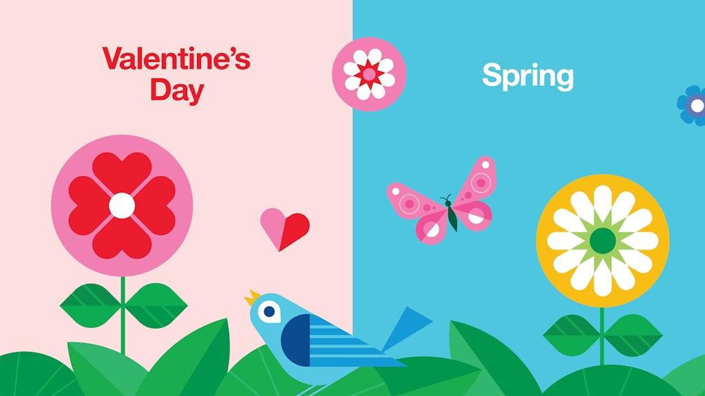 Target Valentines Spring Illustration Slideshow 02 2048X1152 V2