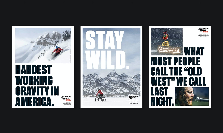 Jackson Hole Print Ads